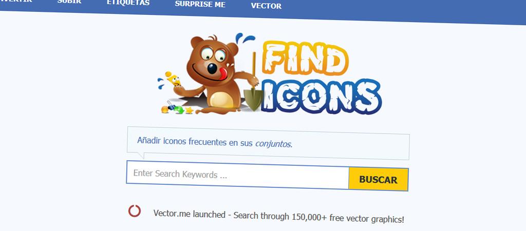Buscador de iconos gratuito - Findicons