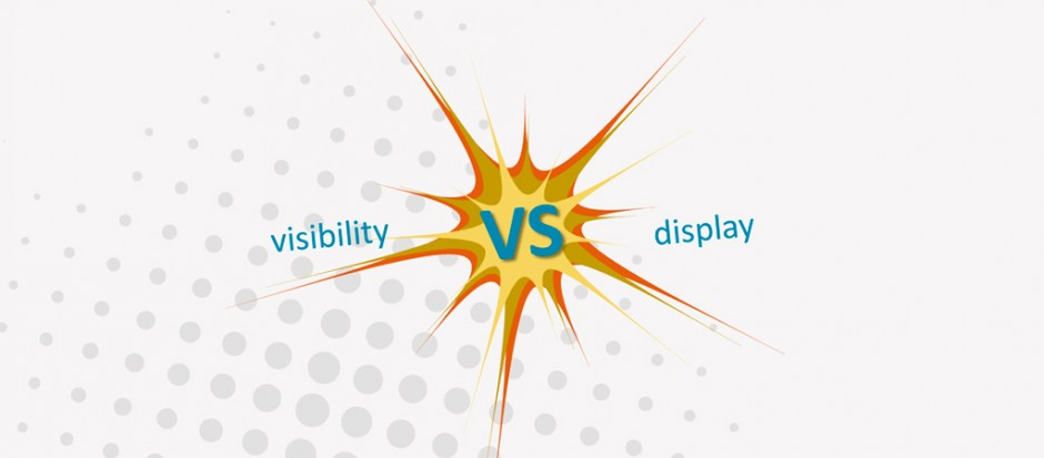Diferencia entre display: none y visibility: hidden en CSS