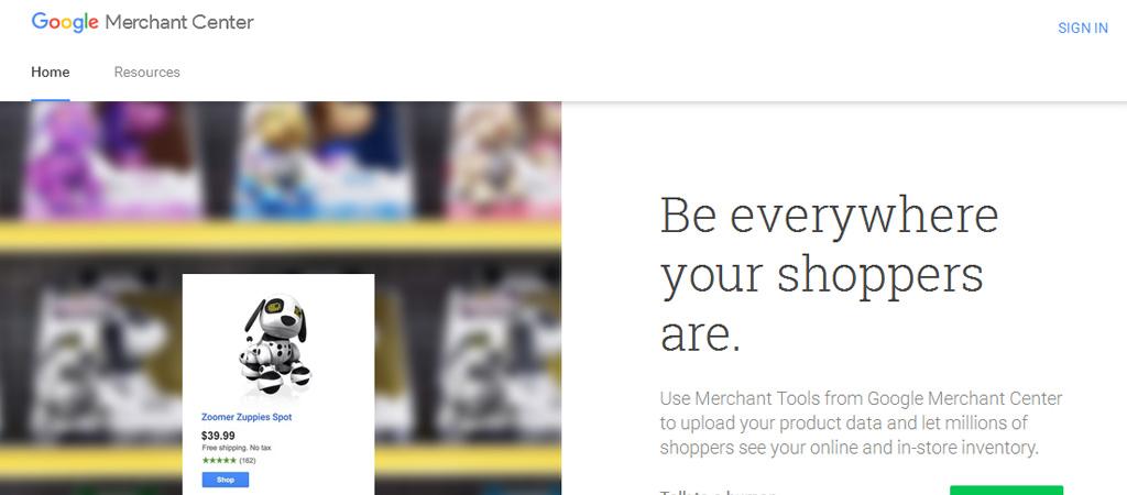 Cómo aparecer en Google Shopping