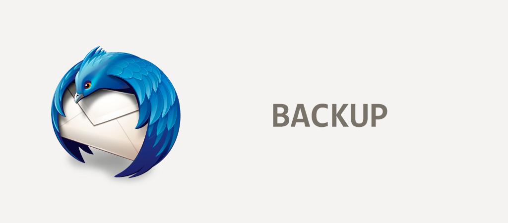 Hacer copia de seguridad, backup o exportar correos en Thunderbird