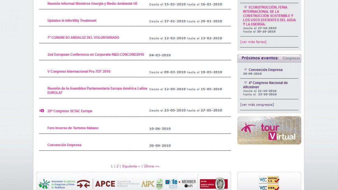 Desarrollo web de Fibes