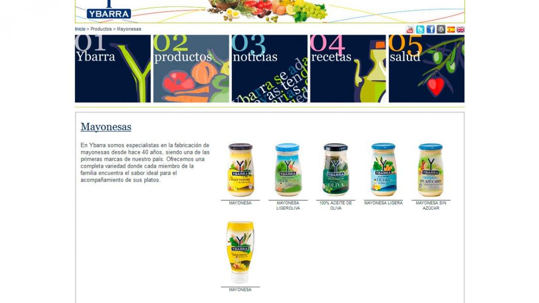 Desarrollo web de Ybarra