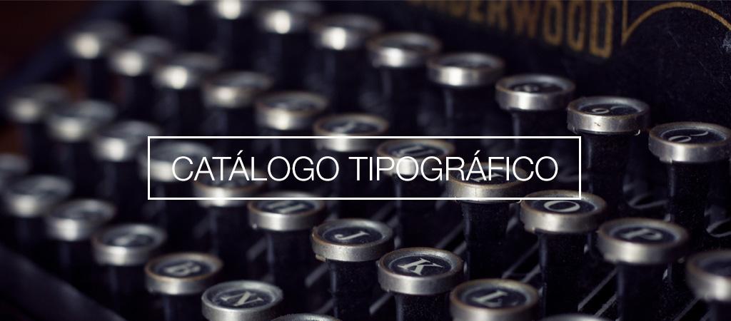 Catálogo online de fuentes tipográficas gratis
