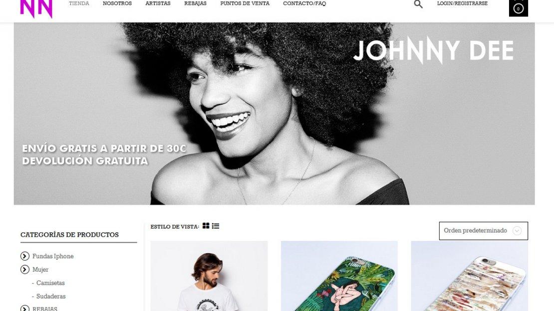 Desarrollo de tienda online en WooCommerce Johnny Dee