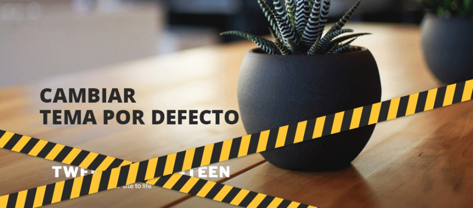 Definir un tema por defecto diferente en WordPress
